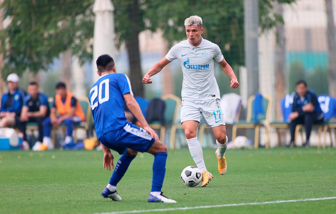 «Зенит» завершил зимние «Газпром»-тренировочные сборы победой над сборной Узбекистана
