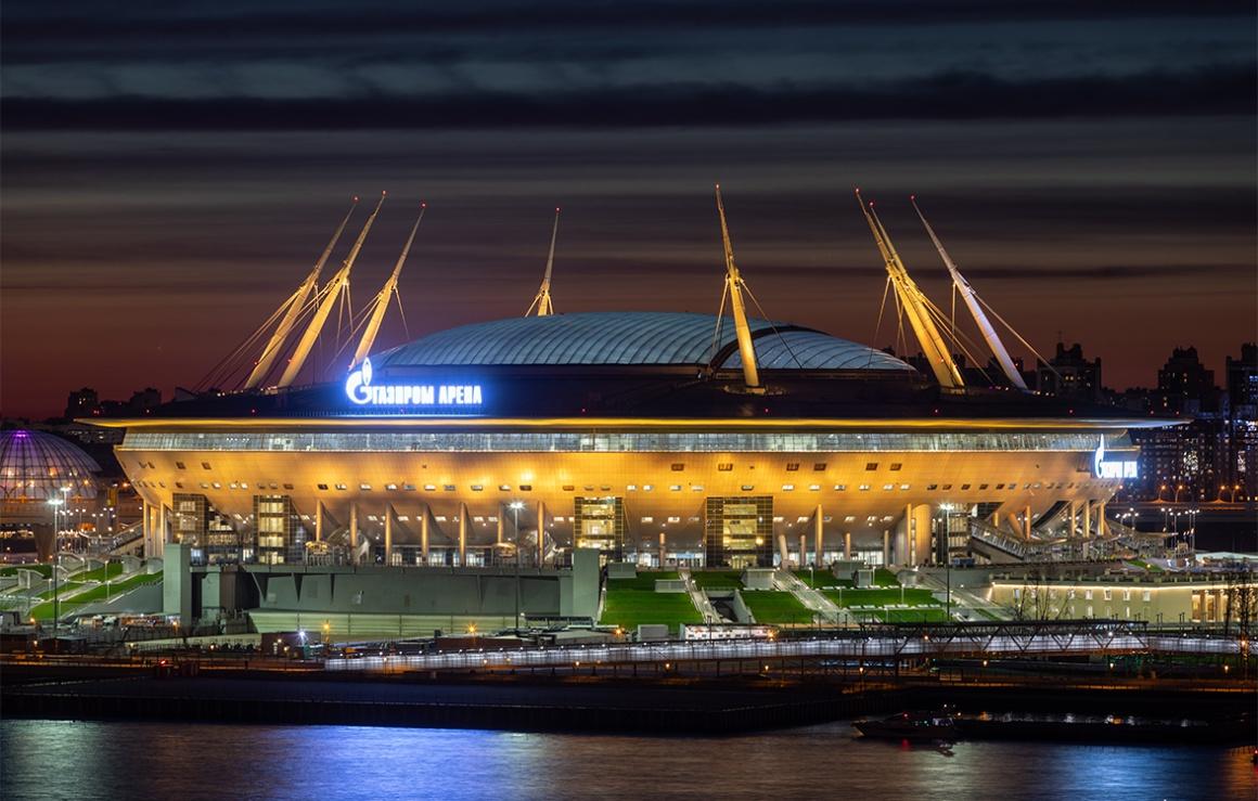 УЕФА: «Газпром Арена» примет финал Лиги чемпионов УЕФА сезона-2021/22